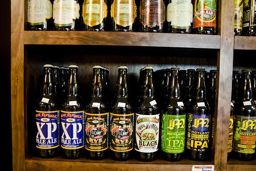 地ビールの販売