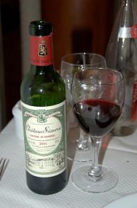 ハーフボトルのワイン