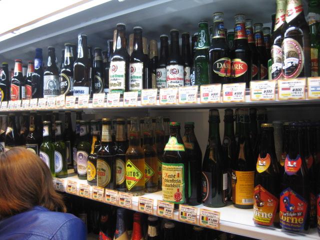グランフロント大阪の世界のビール博物館