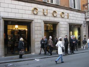 ローマのグッチ店舗
