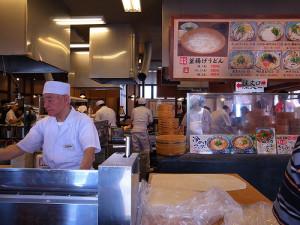 丸亀製麺の店内