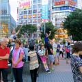 日本を旅する外国人?