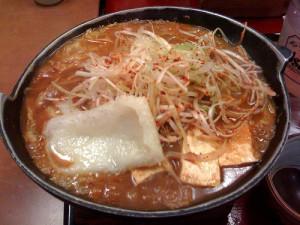 ばんどう太郎の味噌煮込みうどん