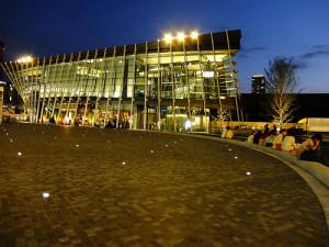 イベントがよく行われるグランフロント大阪の大広場