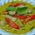 タイのグリーンカレー