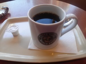 カフェ・ベローチェのブレンドコーヒー