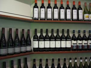 wine shelve