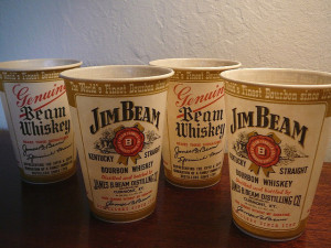 jim beam cups
