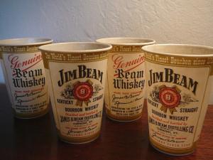 jim beam cups
