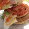 vegetable chicken buger from Mcdonald's